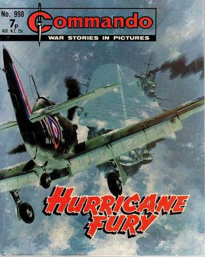 Cover for Commando (D.C. Thomson, 1961 series) #998