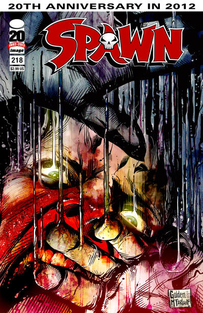 Cover for Spawn (Image, 1992 series) #218