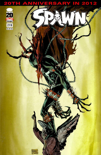 Cover for Spawn (Image, 1992 series) #219