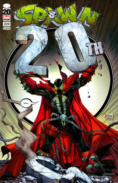 Cover for Spawn (Image, 1992 series) #220 [Cover B by Todd McFarlane]
