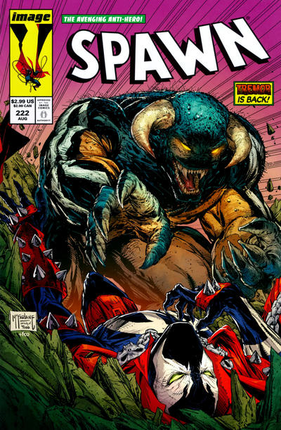 Cover for Spawn (Image, 1992 series) #222