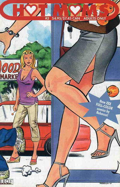 Cover for Hot Moms (Fantagraphics, 2003 series) #2