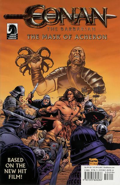 Cover for Conan the Barbarian: The Mask of Acheron (Dark Horse, 2011 series)