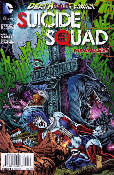 Cover for Suicide Squad (DC, 2011 series) #14