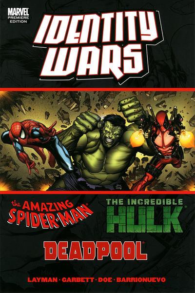Cover for Deadpool/Amazing Spider-Man/Hulk: Identity Wars (Marvel, 2011 series) #[nn]