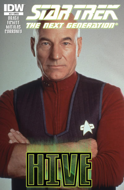 Cover for Star Trek TNG: Hive (IDW, 2012 series) #3 [Cover B - Photo Cover]