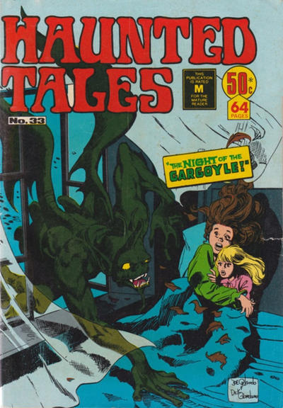 Cover for Haunted Tales (K. G. Murray, 1973 series) #33
