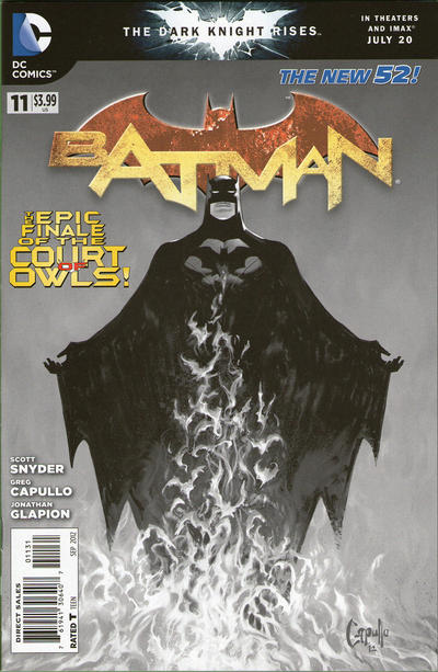 Cover for Batman (DC, 2011 series) #11 [Greg Capullo Cover]
