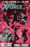 Cover for Uncanny X-Force (Marvel, 2010 series) #35