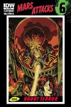 Cover for Mars Attacks (IDW, 2012 series) #6 [Retailer incentive]