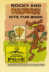 Cover for Rocky and Bullwinkle Kite Fun Book (Western, 1963 series) #[nn]