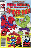 Cover for Marvel Tails Starring Peter Porker, the Spectacular Spider-Ham (Marvel, 1983 series) #1 [Canadian]