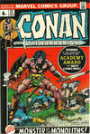 Cover for Conan the Barbarian (Marvel, 1970 series) #21 [British]