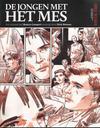 Cover for De jongen met het mes (Audax Publishing; Code II, 2012 series)