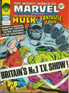 Cover for The Mighty World of Marvel (Marvel UK, 1972 series) #317