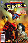 Cover for Supergirl (DC, 2011 series) #14 [Newsstand]