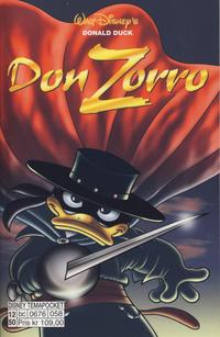 Cover Thumbnail for Donald Duck Tema pocket; Walt Disney's Tema pocket (Hjemmet / Egmont, 1997 series) #[54] - Don Zorro