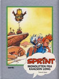 Cover Thumbnail for Sprint [Seriesamlerklubben] (Semic, 1986 series) #[26] - Monolitten fra Kaalson Long