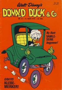 Cover Thumbnail for Donald Duck & Co (Hjemmet / Egmont, 1948 series) #14/1970