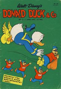 Cover Thumbnail for Donald Duck & Co (Hjemmet / Egmont, 1948 series) #15/1970