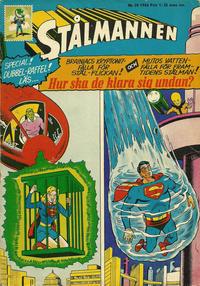 Cover Thumbnail for Stålmannen (Centerförlaget, 1949 series) #20/1966