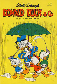 Cover Thumbnail for Donald Duck & Co (Hjemmet / Egmont, 1948 series) #18/1970
