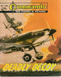 Cover Thumbnail for Commando (D.C. Thomson, 1961 series) #1494