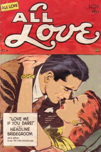 Cover Thumbnail for All Love (Ace Magazines, 1949 series) #29