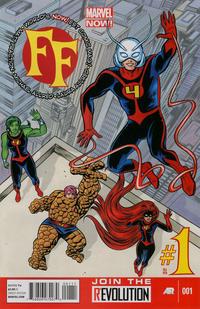 Cover Thumbnail for FF (Marvel, 2013 series) #1 [Michael Allred Cover]