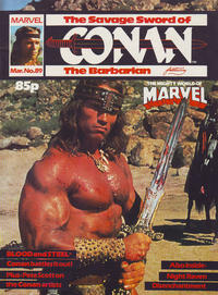 Cover Thumbnail for The Savage Sword of Conan (Marvel UK, 1977 series) #89