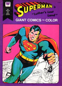 "Cover Thumbnail for Superman in ""Luther's Lost Land"" [Giant Comics to Color] (Western, 1975 series) #1716"