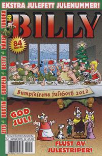 Cover Thumbnail for Billy (Hjemmet / Egmont, 1998 series) #25/2012