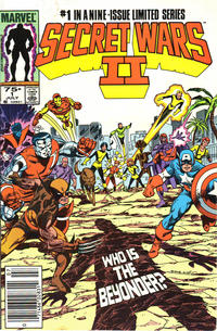 Cover Thumbnail for Secret Wars II (Marvel, 1985 series) #1 [Newsstand]