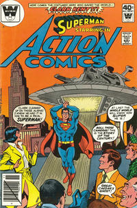 Cover Thumbnail for Action Comics (DC, 1938 series) #501 [Whitman Variant]