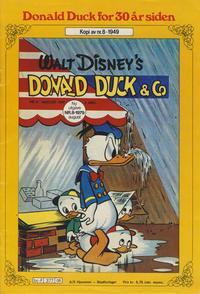 Cover Thumbnail for Donald Duck for 30 år siden (Hjemmet / Egmont, 1978 series) #8/1979