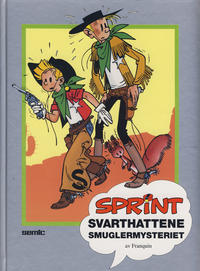 Cover Thumbnail for Sprint [Seriesamlerklubben] (Semic, 1986 series) #[28] - Svarthattene
