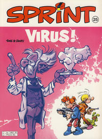 Cover Thumbnail for Sprint (Hjemmet / Egmont, 1998 series) #25 - Virus!