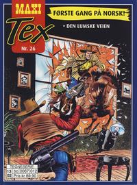 Cover Thumbnail for Maxi Tex (Hjemmet / Egmont, 2008 series) #26