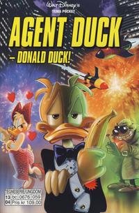 Cover Thumbnail for Donald Duck Tema pocket; Walt Disney's Tema pocket (Hjemmet / Egmont, 1997 series) #[55] - Agent Duck-Donald Duck!