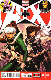 Cover Thumbnail for A+X (Marvel, 2012 series) #2