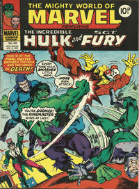 Cover Thumbnail for The Mighty World of Marvel (Marvel UK, 1972 series) #289