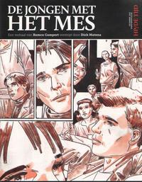 Cover Thumbnail for De jongen met het mes (Audax Publishing; Code II, 2012 series)