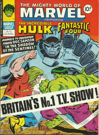 Cover Thumbnail for The Mighty World of Marvel (Marvel UK, 1972 series) #317