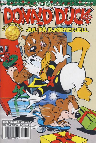 Cover for Donald Duck & Co (Hjemmet / Egmont, 1948 series) #50/2012