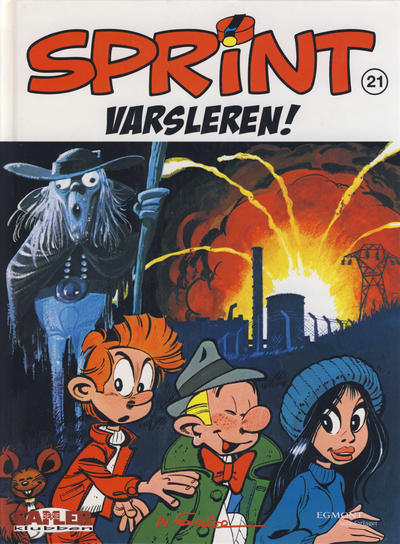 Cover for Sprint [Seriesamlerklubben] (Hjemmet / Egmont, 1998 series) #21 - Varsleren!