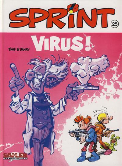 Cover for Sprint [Seriesamlerklubben] (Hjemmet / Egmont, 1998 series) #25 - Virus!