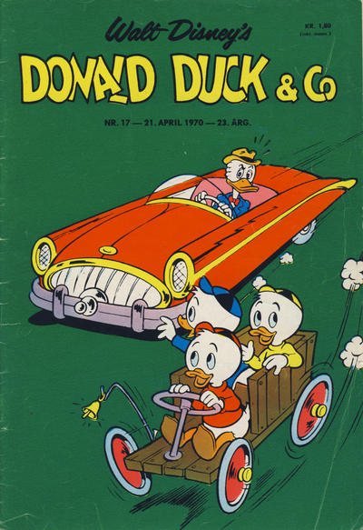 Cover for Donald Duck & Co (Hjemmet / Egmont, 1948 series) #17/1970