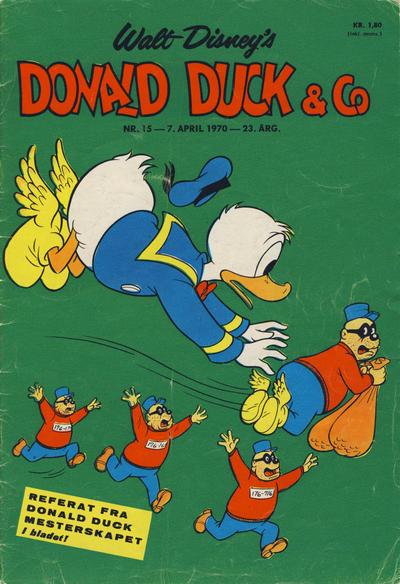 Cover for Donald Duck & Co (Hjemmet / Egmont, 1948 series) #15/1970