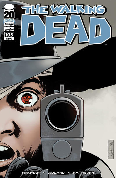 Cover for The Walking Dead (Image, 2003 series) #105