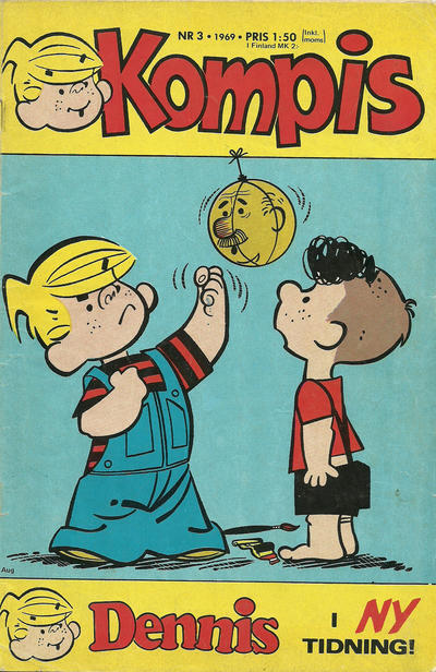 Cover for Dennis (Semic, 1969 series) #3/1969